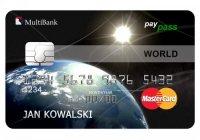 Pierwszy raz karta kredytowa z payWave w MultiBanku
